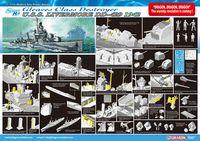"Миноносец ""U.S.S. Livermore DD-429 1942"" (масштаб: 1/350)"