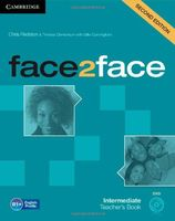 Face2Face. Intermediate. Teacher`s Book (+ DVD-ROM)
