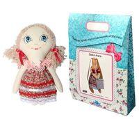 """Подарочный набор для шитья из ткани """"Кукла. Анечка"""""""