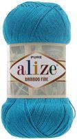 "Пряжа ""ALIZE. Bamboo Fine №484"" (100 г; 440 м; голубой)"
