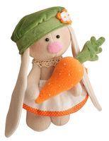 """Набор для шитья из ткани """"Зайка Морковка"""""""