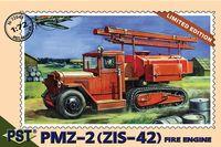 Пожарная машина ПМЗ-2 на базе ЗИС-42 (масштаб: 1/72)