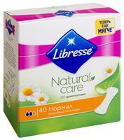 """Ежедневные прокладки Libresse Natural Care """"Normal"""" (40 шт)"""
