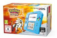 Игровая Приставка Nintendo 2DS (голубой) + Pokémon Sun