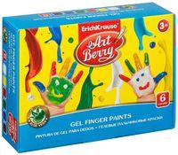 "Краски пальчиковые ""Artberry"" (6 цветов)"