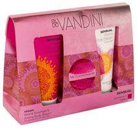 """Подарочный набор """"Aldo Vandini. Sensual"""" (гель для душа, бальзам для тела, мочалка)"""