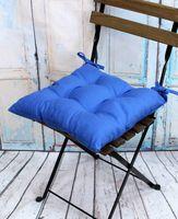 "Подушка на стул ""Simplex"" (42х42 см; голубая)"