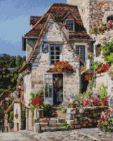 """Алмазная вышивка-мозаика """"Франция. Ракамадур"""" (400х500 мм)"""