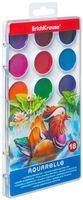 Акварель медовая в пластиковой упаковке (18 цветов)