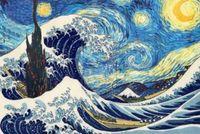 """Алмазная вышивка-мозаика """"Большая волна"""""""