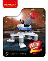 """Конструктор """"Мини-блоки. Космический истребитель"""" (36 деталей)"""