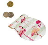 "Монетница круглая ""Фламинго"""
