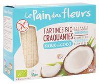 """Хлебцы рисовые """"Le Pain des Fleurs. С кокосом"""" (150 г)"""