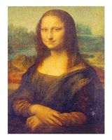 """Магнит на холодильник """"Леонардо да Винчи. Джоконда"""""""