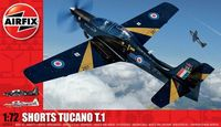 """Учебно-тренировочный самолет """"Shorts Tucano T.1"""" (масштаб: 1/72)"""