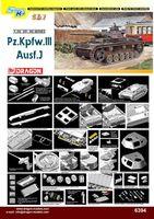 """Средний танк """"Pz.Kpfw.III Ausf.J"""" (масштаб: 1/35)"""