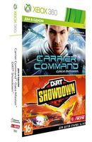 Два в одном: Carrier Command: Gaea Mission + DiRT Showdown [xbox 360]