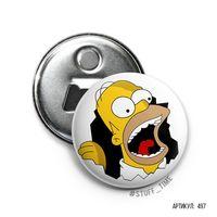 """Открывалка-магнит """"Симпсоны"""" (арт. 497)"""