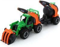 """Трактор-погрузчик с цистерной """"ГрипТрак"""""""
