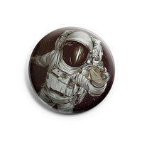 """Значок маленький """"Космонавт"""" (арт. 104)"""