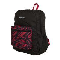 Рюкзак П2199 (15 л; чёрно-красный)