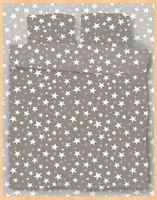 """Постельное белье """"Stars Grey"""" (евро)"""