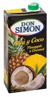 """Нектар """"Don Simon. Ананас, апельсин и кокос"""" (1 л)"""