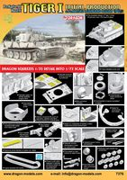 "Тяжелый танк ""Tiger I Initial Production s.Pz.Abt.502 Leningrad Region 1942/43"" (масштаб: 1/72)"