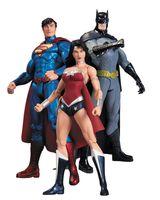 "Набор фигурок ""Бэтмен. Чудо-женщина. Супермен"". 3 в 1 (17 см)"