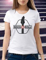 "Футболка женская ""Rock and Roll"" 44 (art. 5)"