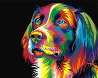 "Картина по номерам ""Ваю Ромдони. Радужный пес"" (400х500 мм)"