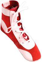 Обувь для самбо П (р.32; замша; красная)