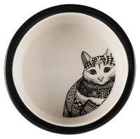 "Миска для кошек ""Zentangle"" (0,3 л)"