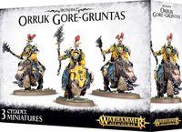 Warhammer Age of Sigmar. Ironjawz. Orruk Gore-Gruntas (89-30)