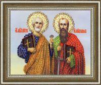 """Вышивка бисером """"Святые Апостолы Петр и Павел"""""""