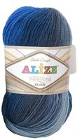 ALIZE. Superlana Klasik Batik №4761 (100 г; 280 м)
