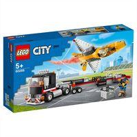 "LEGO City ""Транспортировка самолёта на авиашоу"""