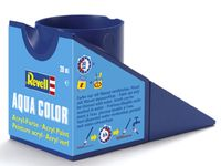 """Краска акриловая для моделей """"Aqua Color"""" (чёрная; 18 мл)"""