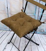 """Подушка на стул """"Velours. Pecan"""" (42х42 см)"""