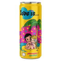 """Напиток газированный """"Love is. Ананас-кокос"""" (330 мл)"""