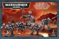 "Набор миниатюр ""Warhammer 40.000. Grey Knights Terminators/Paladins"" (57-07)"