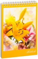 """Блокнот на спирали """"Цветы"""" (А5; арт. DV-5414)"""