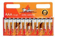 Батарейки LR03/AAA щелочные (12 шт.; арт. AAA-12)