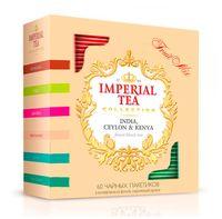 """Чай черный и зеленый """"Imperial Tea. Фруктовое ассорти"""" (60 пакетиков)"""