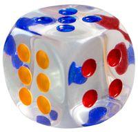 Кубик D6 (арт. 25#)