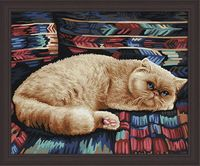 "Картина по номерам ""Персидский кот"" (400х500 мм)"