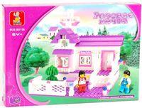 """Конструктор """"Розовая мечта. Загородный домик"""" (193 детали)"""