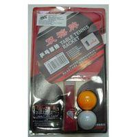 Ракетка для настольного тенниса (+2 шарика; арт. 1ZV)