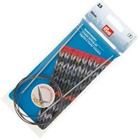 Спицы круговые для вязания (латунь; 2,5 мм; 100 см)