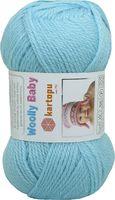 "Пряжа ""KARTOPU. Woolly Baby №K502"" (50 г; 148 м; голубой)"